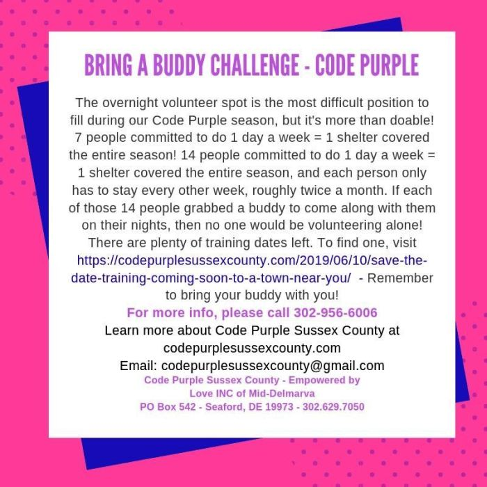Buddy Challenge CPSC 7-29-2019